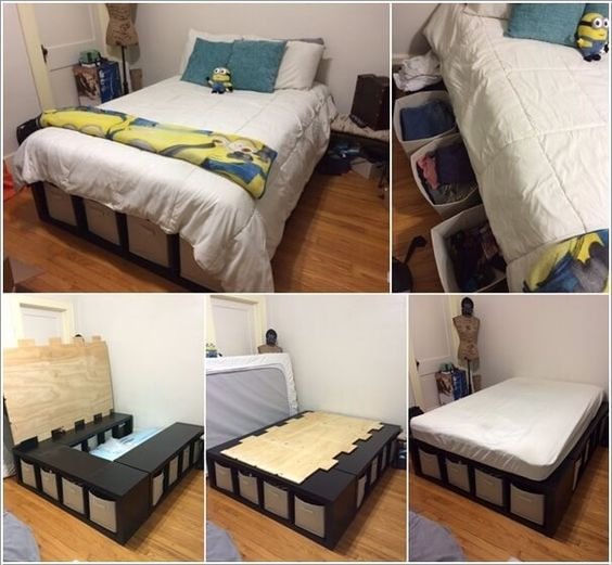 4 2 How To Make A Shelf Storage Bed Simphome
