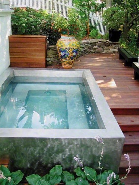 4 good backyard hot tubs decoration ideas Simphome