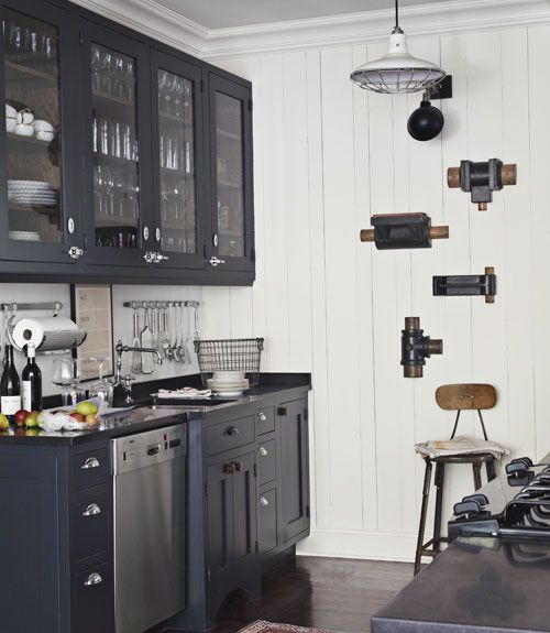 45 black and white kitchen combo simphome