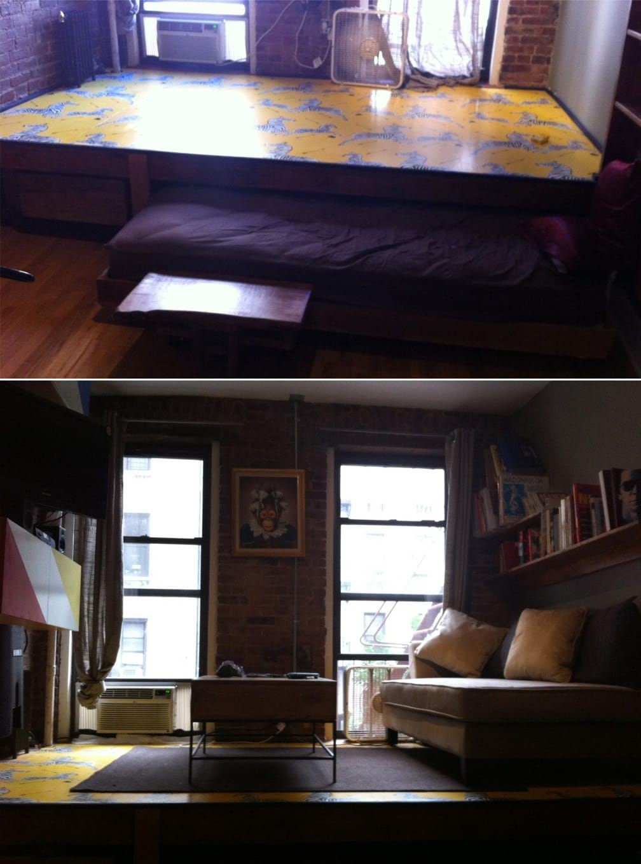 5 Hidden Bed via simphome