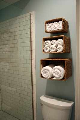 5 Quick And Easy Open Shelves via simphome