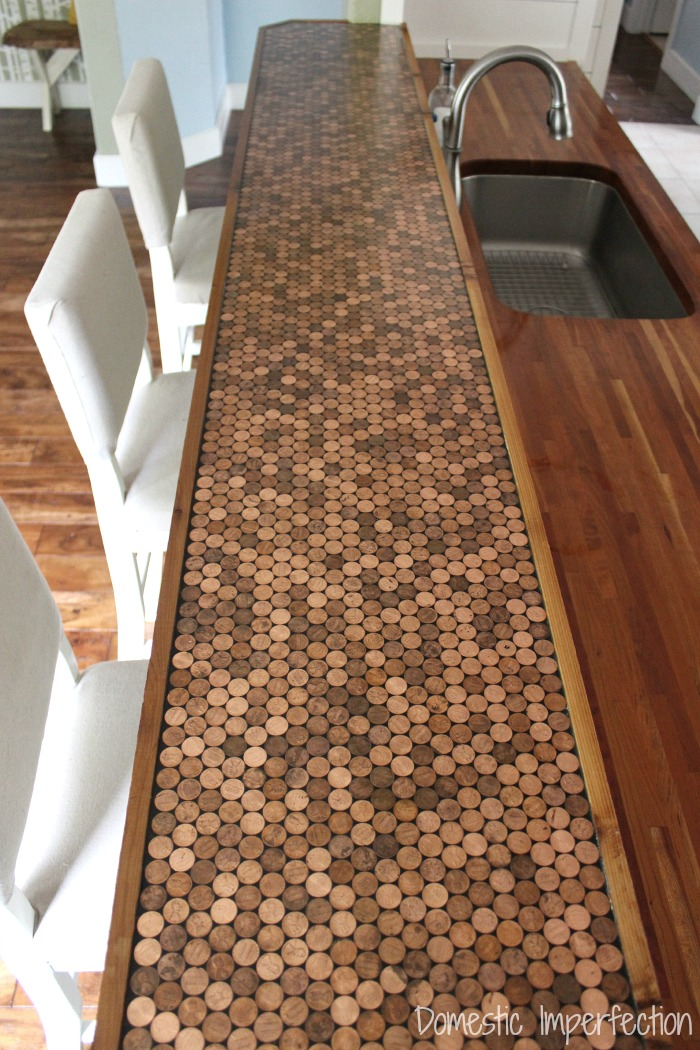 5 Get Yourself a Penny Countertop Simphome 13