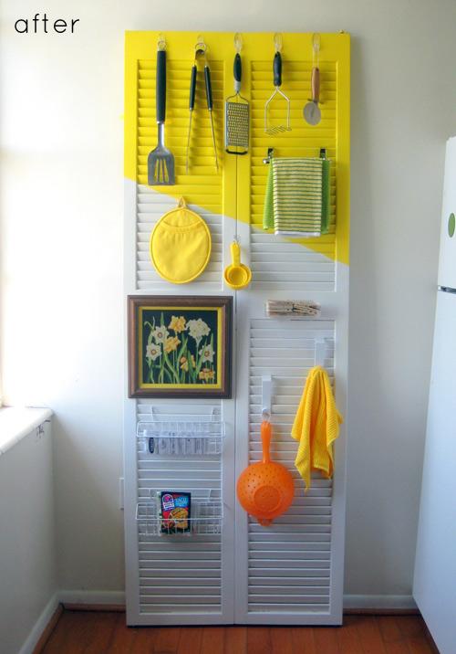 60 Utensil Closet Door Organizer via simphome com