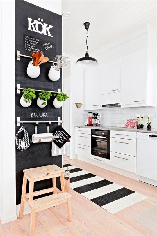 62 ideas to use small kitchen wall via simphome