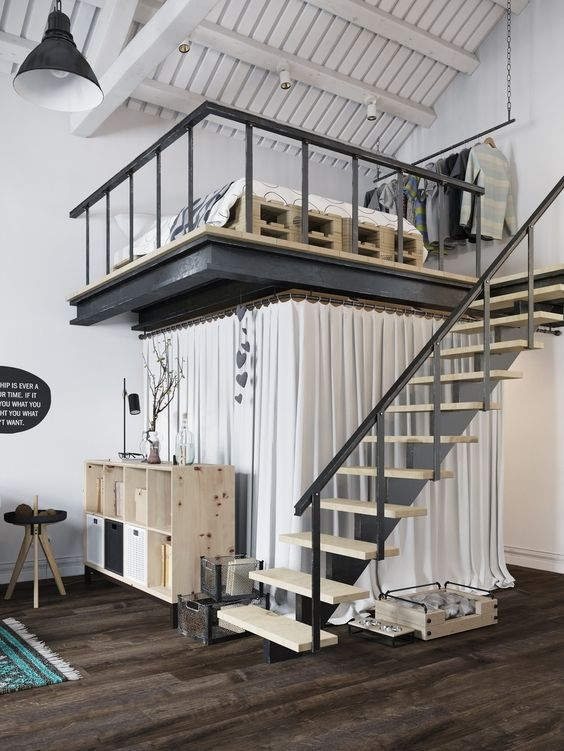 66 loft designs from different designers Simphome
