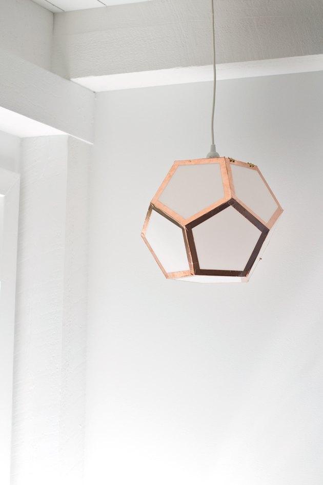 7.Geometric Pendant Light