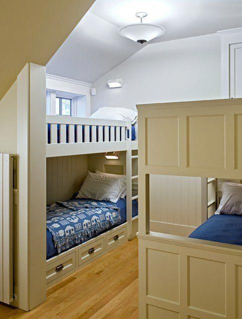77 Fantastic Built In Bunk Bed Ideas for Kids Room Simphome