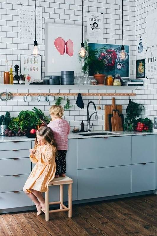 86 Ideas For Revamping Your Kitchen Art via Simphome