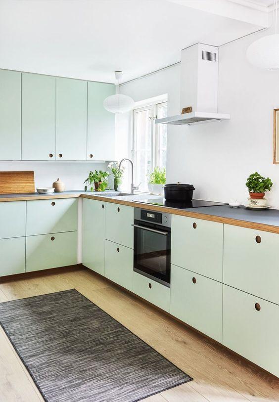 92 Farmhouse Kitchen Cabinet via simphome