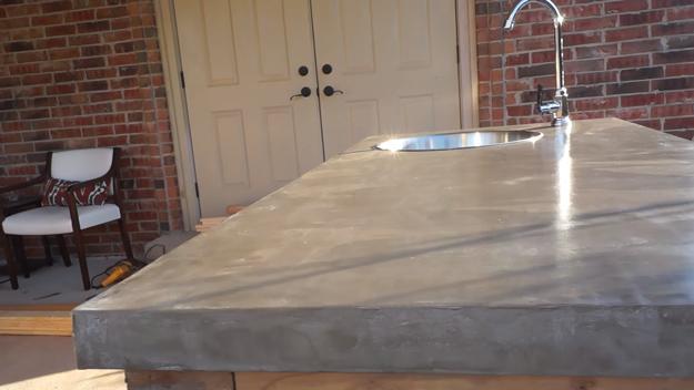 95 Concrete Countertops via simphome com