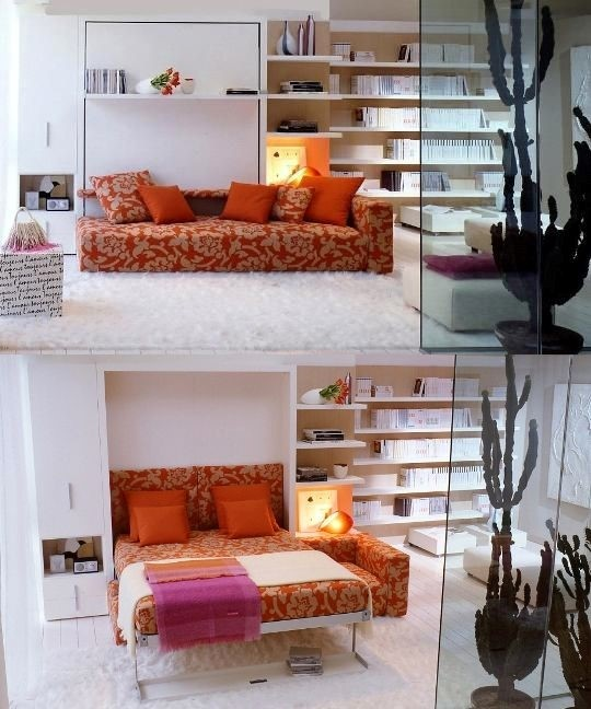 1 Vertical Wall Bed via simphome