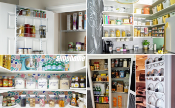 10 Clever Pantry Organization via simphome