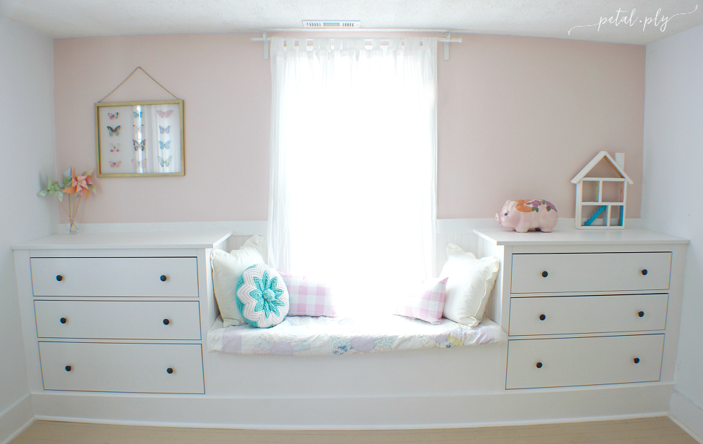 29 Double Dresser Window Seat Built In with Ikea Hemnes via simphome