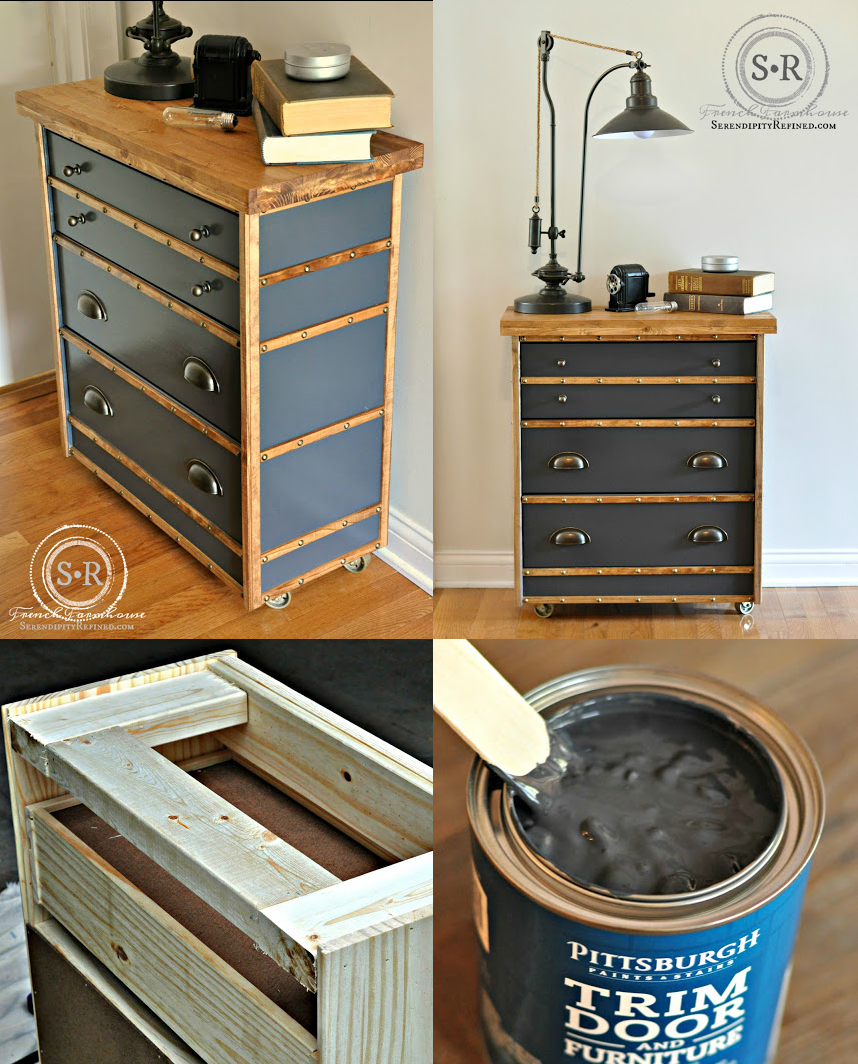 3 Rast Hack Industrial Nightstand by Serendipityrefined via simphome