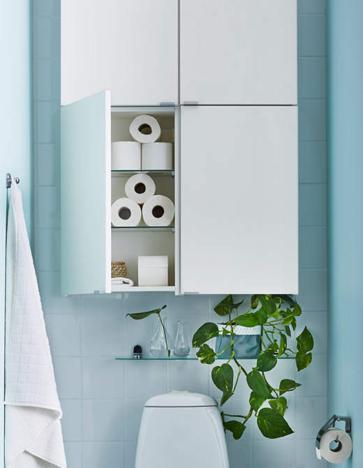 39 Bathroom organizing solutions from IKEA via simphome