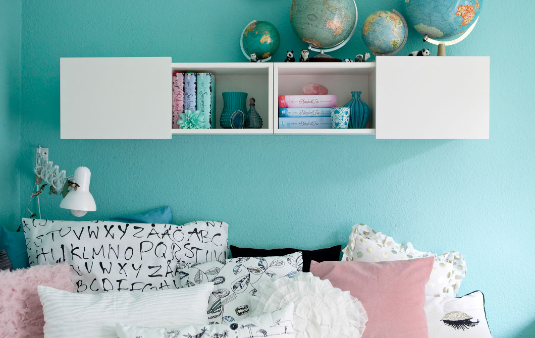 47 IKEAs Teenage Bedroom idea via simphome com