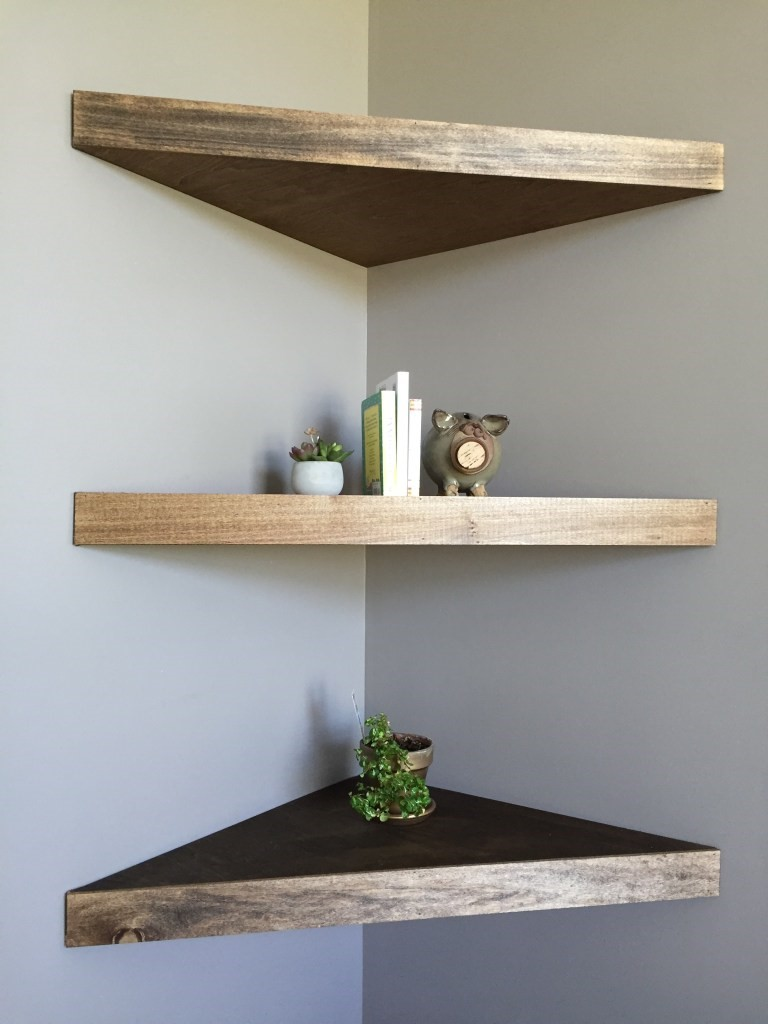 5 Embrace Floating Shelves via simphome
