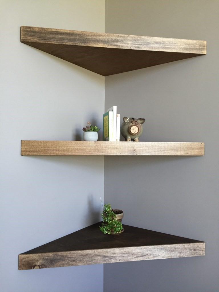 5 Embrace Floating Shelves via simphome