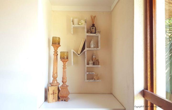 5 Rustic HOME Wooden Shelf via simphome