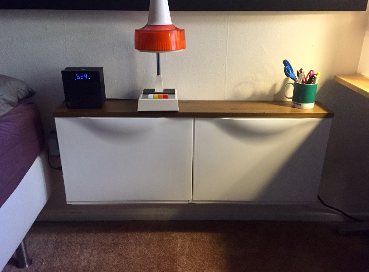 54 Convenient Side Table from IKEA Trones via simphome com