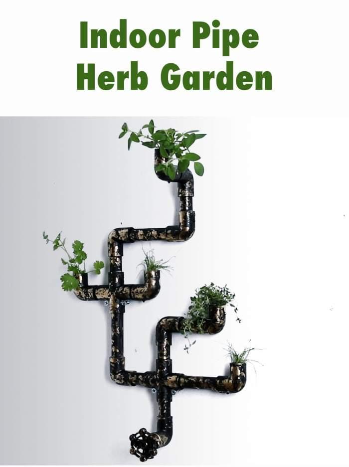 pipe garden