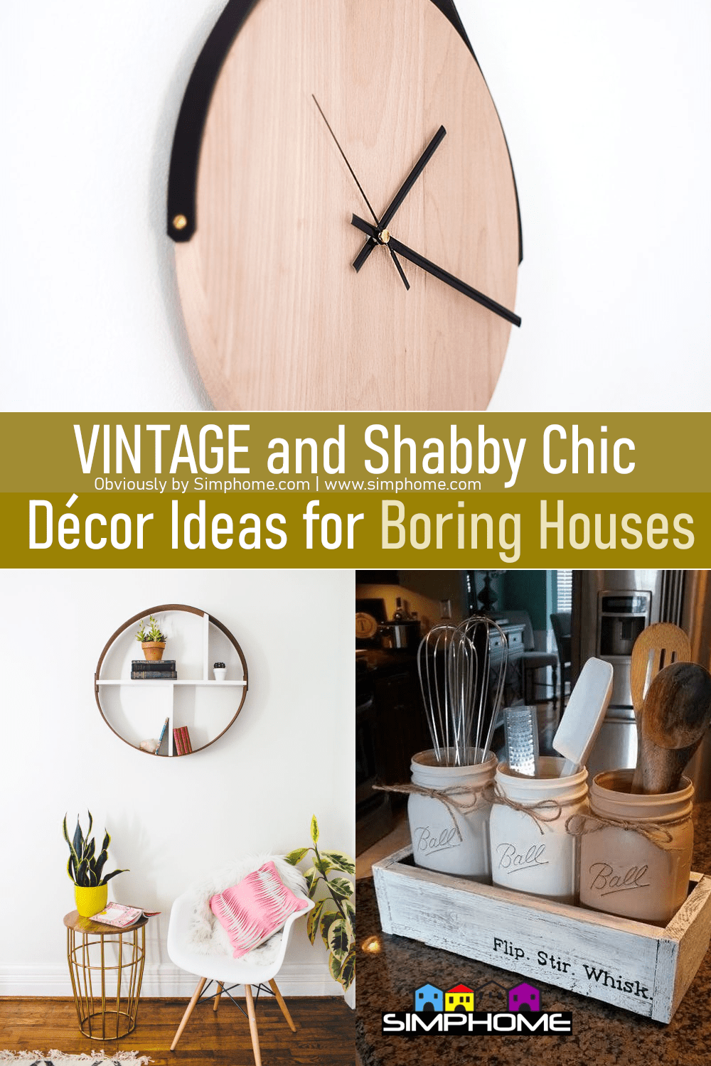 60 Vintage and Shabby Chic Decor Ideas by Simphome.com