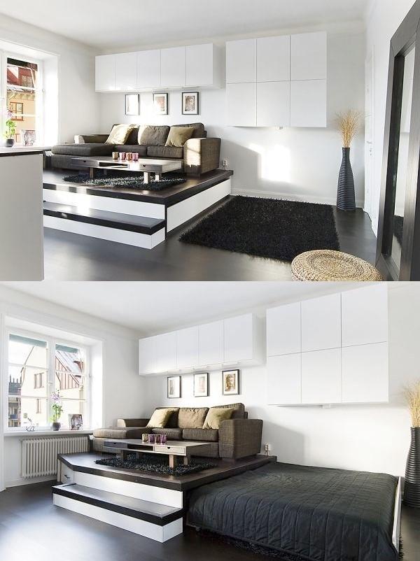 7 Hide Your Bed Away via simphome