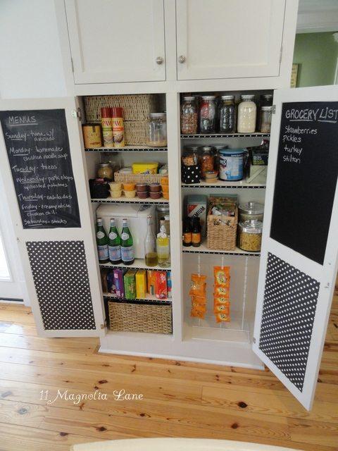 7 Incorporate Chalkboard Doors via simphome