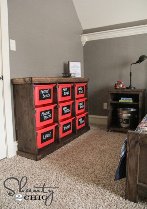 7 Pull Out Storage Idea via simphome
