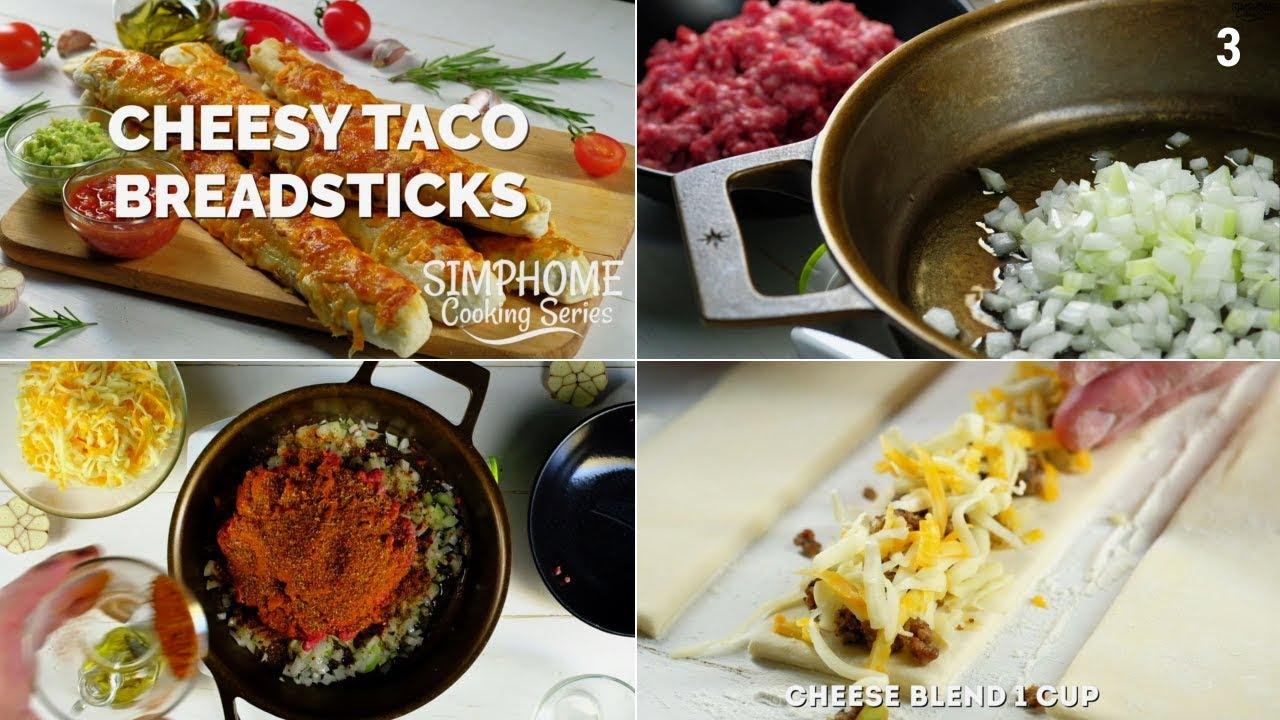 Cheesy taco via simphome 1