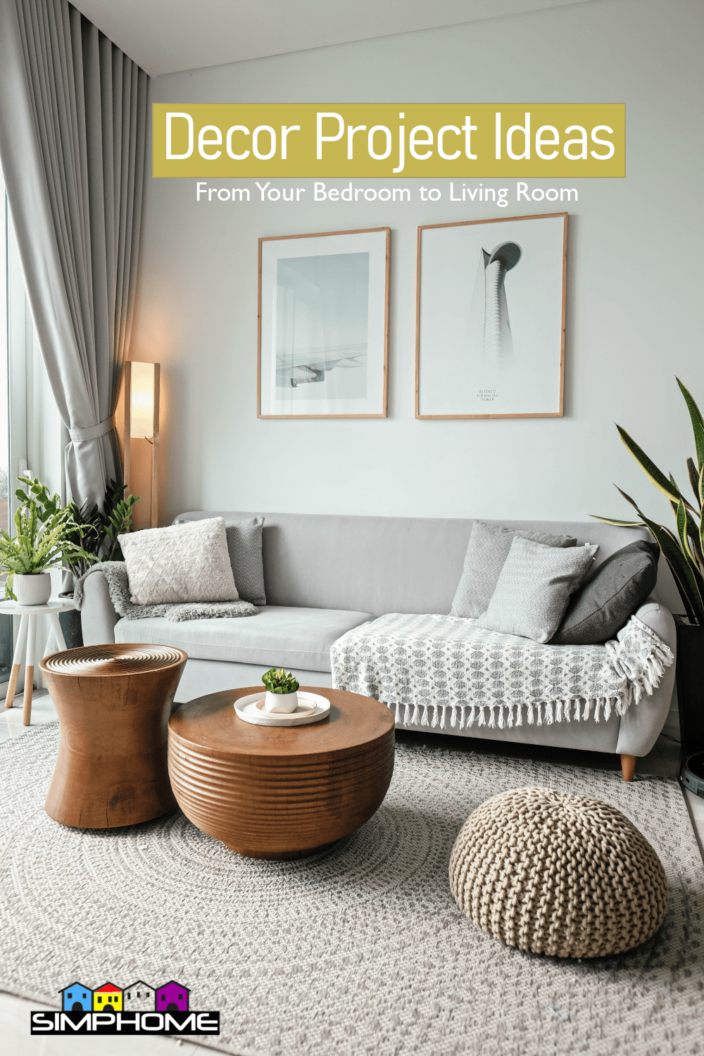 Decor Projects That Will Upgrade Your Home via Simphome.com