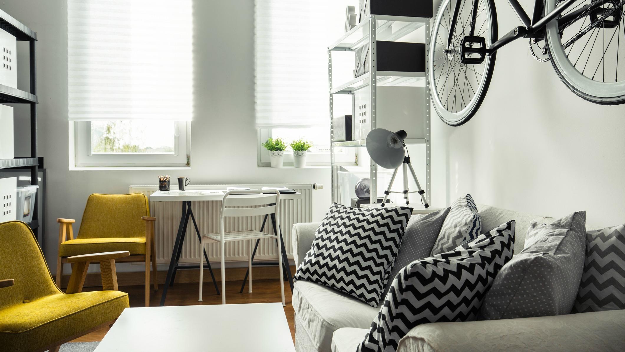 1 Drapes Simphome 20 Easy Interior Design Ideas for Small Apartments