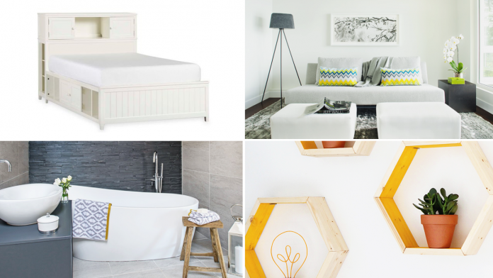 10 Home Decor Furniture Ideas for Anyone Living in A Small Space via simphome featured