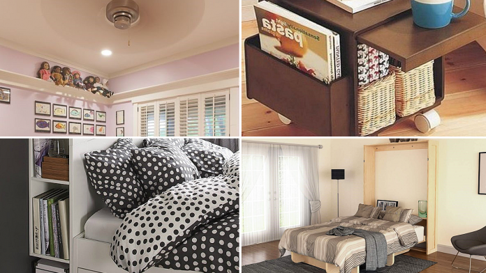 10 Home Makeover Furniture Ideas for Anyone Living in a Small Bedroom via simphome featured