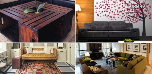 10 Living Room Interior Design Ideas for People in a Budget via simphome thumb
