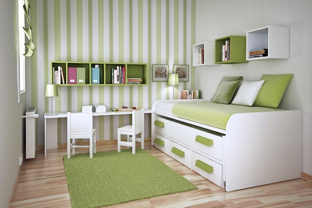 10 Space Saving Bedroom Idea via simphome