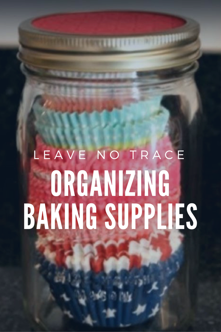 14 Organizing baking supplies via simphome