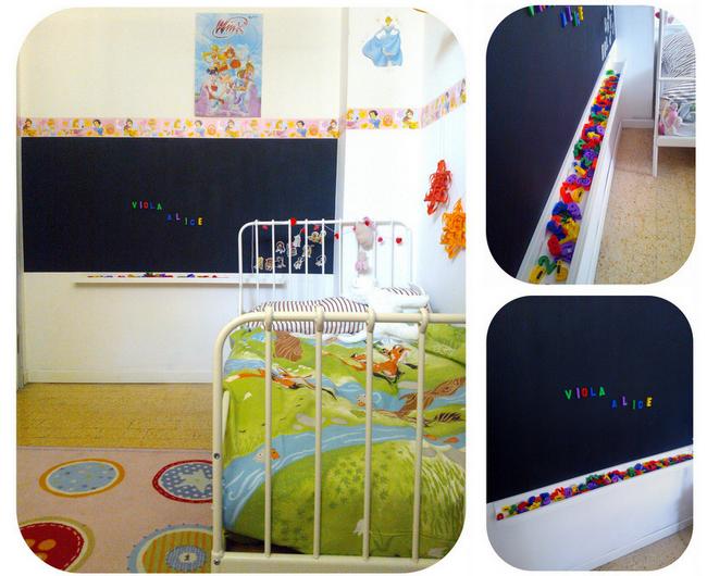 15 The Ribba ledge works well under a chalkboard via simphome