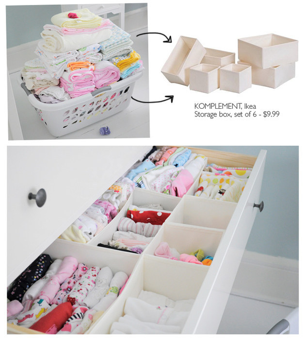 18 Compartmentalize your underwear and socks drawer with Komplement via simphome