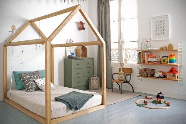 2 DIY Bedframe via simphome