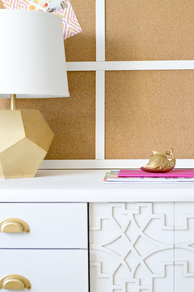 26 Avskild cork placemats are an inexpensive way to create a large bulletin board via simphome