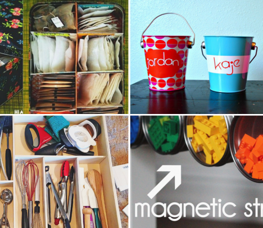 33 Clever Ways To Organize All The Small Things via simphome featured