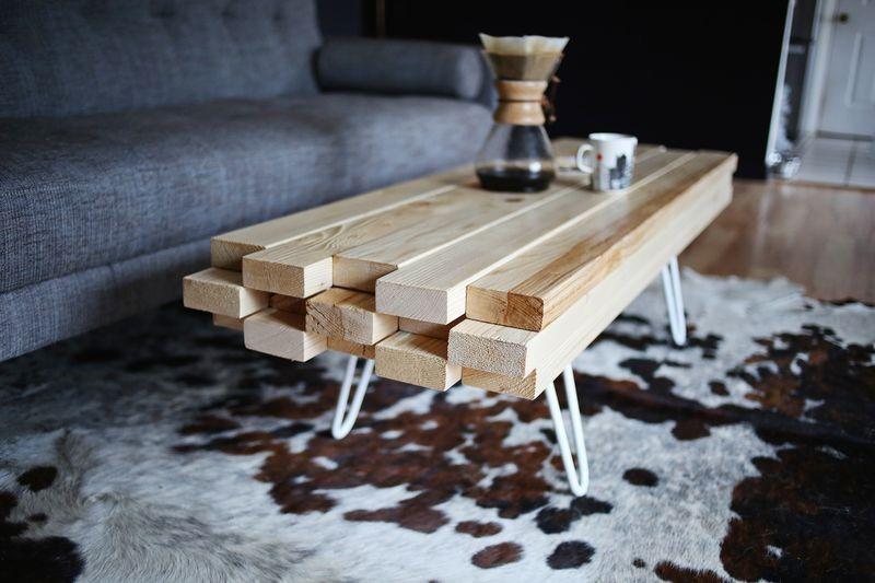 4 Artistic Coffee Table via simphome