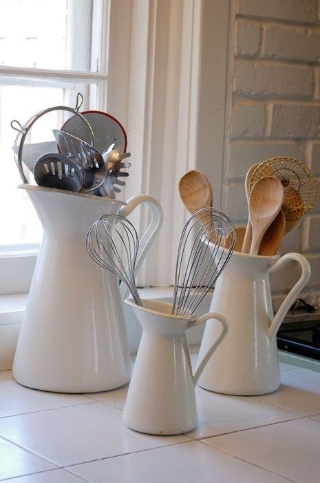 4 The 19 99 Sockerärt vase is an elegant way to store your kitchen utensils via simphome 1