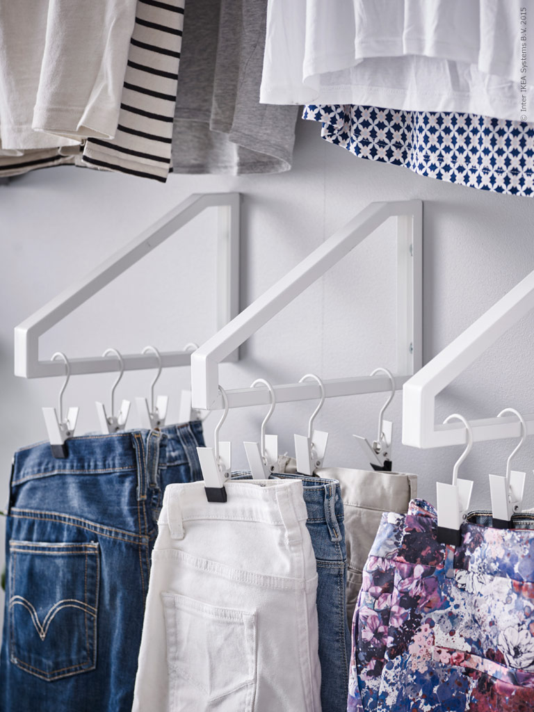40 IKEA EKBY LERBERG Closet solutions via simphome