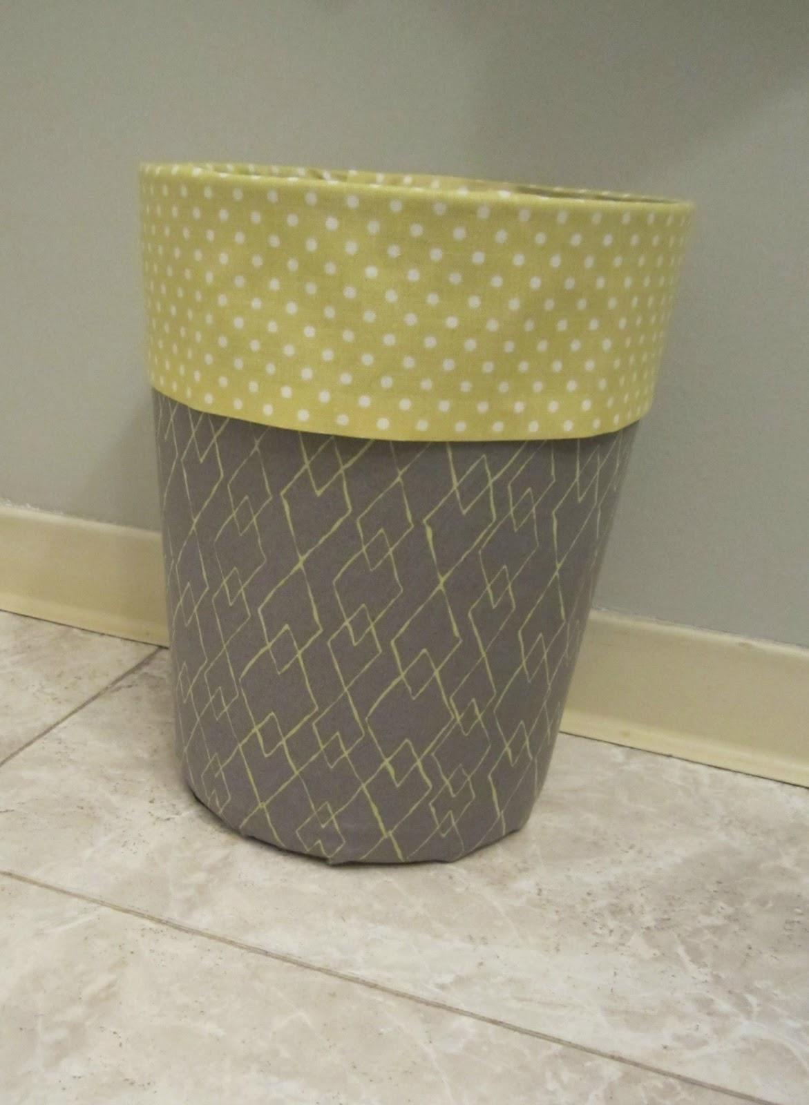 53 Fabric Covered Bins via simphome
