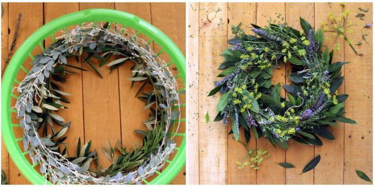 55 DIY Wreath via simphome