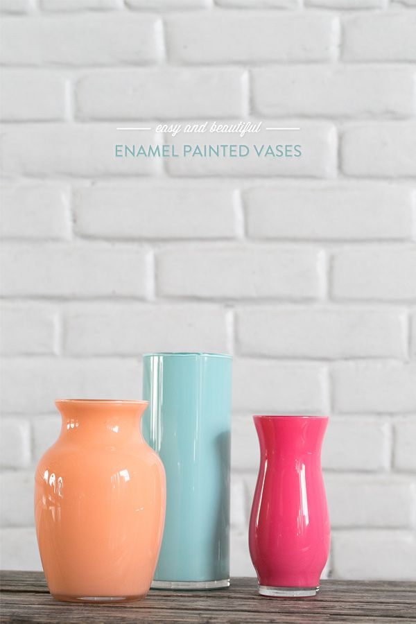 56 Enamel Painted Vases via simphome