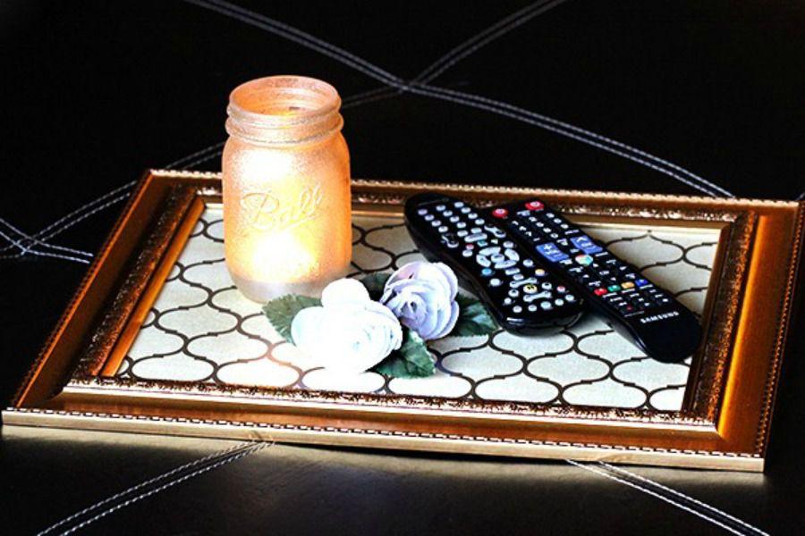 58 Decorative Tray dollar store decor via simphome