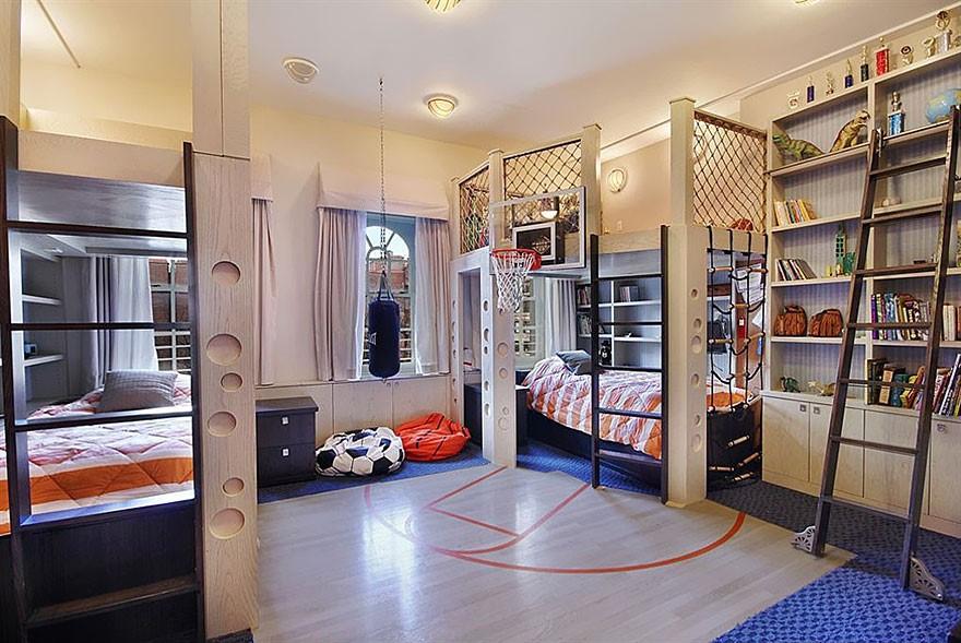 6 Sporty Bedroom for Boys via simphome